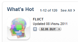FLUCT in iTunes